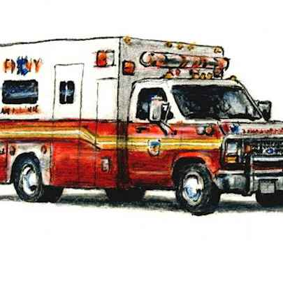 Ford E350 Ambulance Car - Original Drawings