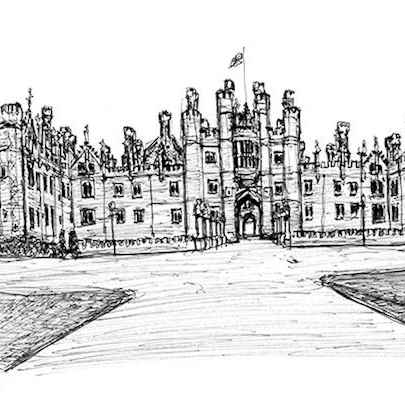 Hampton Court - Original drawings