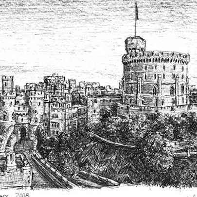 Windsor Castle - Original drawings