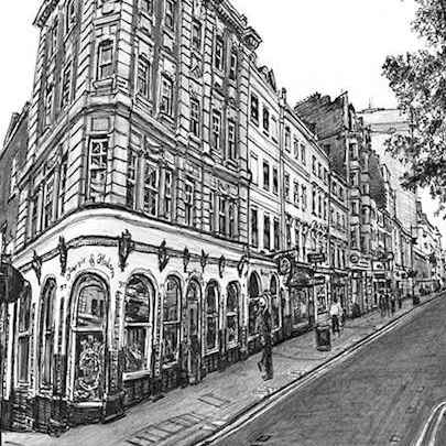 Jermyn Street, London - Original drawings