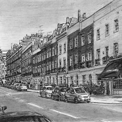 Montpelier Street, Knightsbridge - Original drawings