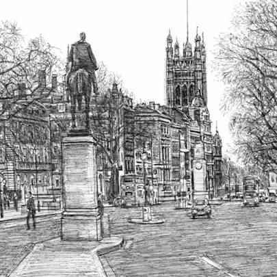 Whitehall Road, London - Original drawings