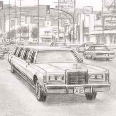 Hollywood 97 - Drawings - Originals, prints and limited editions