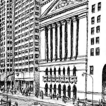 Wall Street - Original Drawings