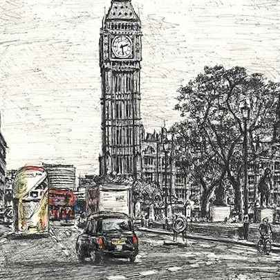 Stephen Wiltshire - Drawings, originals, prints and limited