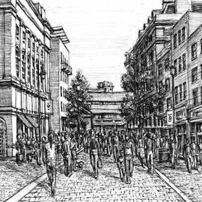 Covent Garden - Original drawings