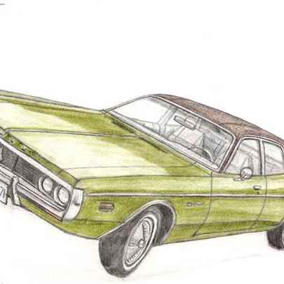 Dodge Coronet - Original drawings