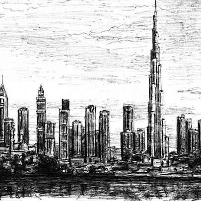Burj Tower - Original drawings
