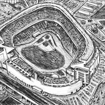 Yankee Stadium - Original drawings