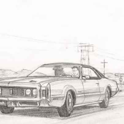 Oldsmobile Toronado - Original drawings