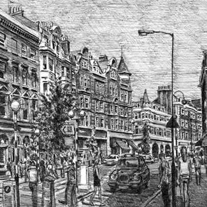 Marylebone High Street - Original drawings