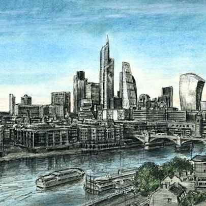 London 2012 - Original drawings