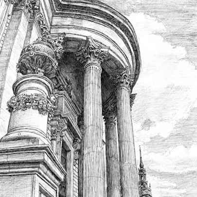 St Pauls forever - Drawings - Gallery