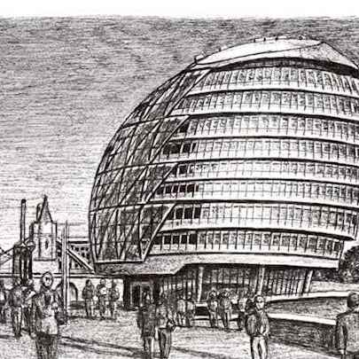 The Mayor of Londons Office - Drawings - Originals, prints and limited editions