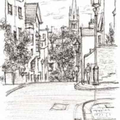 Aubrey Road - Drawings - Originals, prints and limited editions
