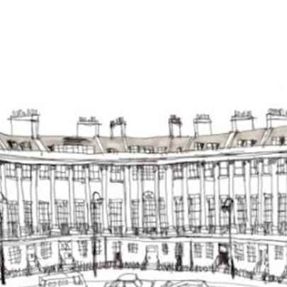 Royal Crescent - Original drawings and Architectural Art