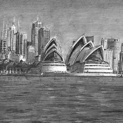 Sydney Opera House (A3 print)2 - Prints for sale