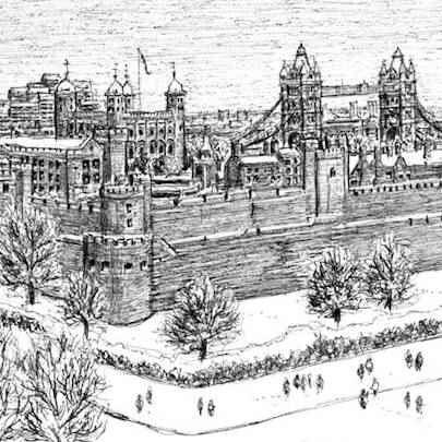 Tower of London - Original Drawings