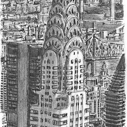 Chrysler Building, New York - Original Drawings