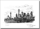 Dallas Skyline, Texas - Originals for sale