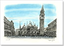 St Marks Square - (San Marco) - Originals for sale
