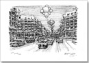 Regent Street at Christmas - Originals for sale