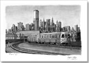 New York Subway Train - Originals for sale