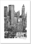 New York street scene - Originals for sale