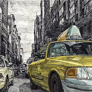 Yellow cabs are back!