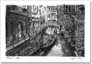 The two gondolas in Venice - Originals for sale