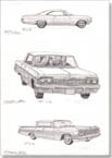 1959-1964-1965 Chevy Impala - Originals for sale