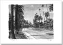 Beverly Drive in Beverly Hills - Originals for sale