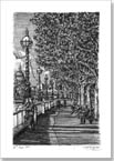 Riverside walk on the Southbank - Originals for sale