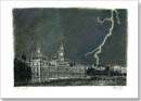 Lightning Strikes Parliament - Originals for sale