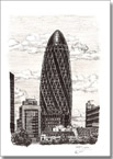 Gherkin Building London - Originals for sale