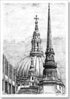 The Dome of St Pauls Cathedral - Originals for sale
