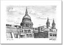 View of St Pauls from Fleet street - Originals for sale