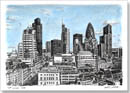 View of City of London from the Monument - Originals for sale