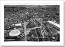 Aerial view of the Olympic village at Stratford - Originals for sale