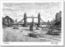 HMS Belfast and Tower Bridge (London) - Originals for sale