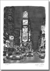 Times Square at night - Originals for sale