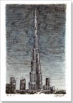 Burj Khalifa (Dubai) - Originals for sale