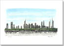Dubai Skyline - Originals for sale