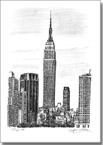 Empire State Building, NY - Originals for sale