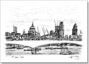 St Pauls and the City of London skyline - Originals for sale