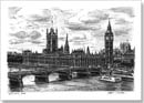 Houses of Parliament (London) - Originals for sale