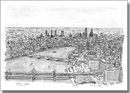 Birds eye view of London from London Eye - Originals for sale