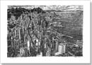 Aerial view of Hong Kong - Originals for sale