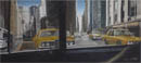 Collage of New York (Graduation work) - oil on board - Originals for sale