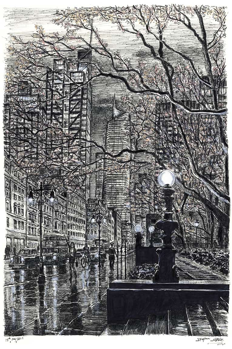 London Metropolis Limited Edition prints of 75 - Original Drawings and Prints for Sale